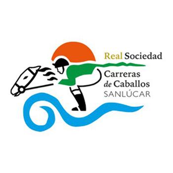 Logotipo Real Sociedad Carreras de Caballo Sanlúcar